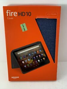 Amazon Fire HD 10 Tablet Cover -  Fits 11th Gen Navy blue