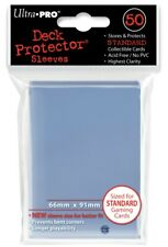 Ultra Pro - Deck Protector Sleeves - 50 stk. - Clear