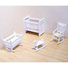 Melissa and Doug 2585 Doll House Nursery Furniture