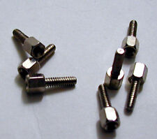 100 STAINLESS 3/16 HEX MALE-FEMALE STANDOFFS X 9/16