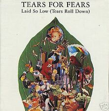 Tears for Fears Laid  so Low FOLD OPEN Sleeve PROMO radio DJ CD Single 1992