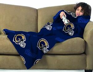 St. Louis Rams Youth Kids COMFY THROW Blanket with Sleeves NEW