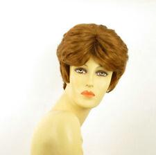 Parrucca donna corta biondo rame : VAL 27