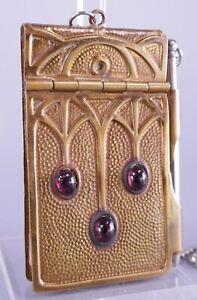 Antique Copper Art Nouveau Note Pad Roycroft Arts & Crafts Style