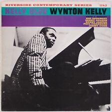 WYNTON KELLY: Kelly Blue US Riverside OJC Jazz w/ Paul Chambers Vinyl  LP