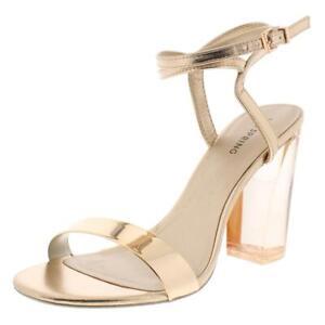 Call It Spring Womens Ocalide Pink Mis-Mate Dress Heels Shoes 7.5 7 BHFO 1356