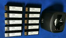 """50(10x5)batteries(Japan Cell)For Symbol DS3478/LS3578...*FREE""""NEW""""Single Charger"""