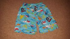 The original Flap Happy pirate theme shorts elastic waist 24 months sea life des