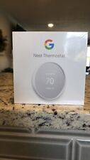 Google Nest Smart Thermostat, Snow - GA01334-US