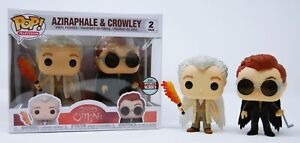 Funko Pop TV: Good Omens - Aziraphale & Crowley Specialty Series 2 Pack #54616