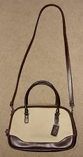 Sonoma Beige/Brown Medium Size Doctor Style Handbag Crossbody Shoulder Purse