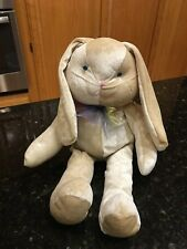 Easter-Pets brown flower soft bunny rabbit plush stuffed animal RARE