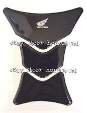 Genuine Original Honda motorcycle tank pad in carbon effect - Wing design