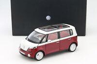 Volkswagen VW Bulli concept car 2011 rouge 1:18 Norev