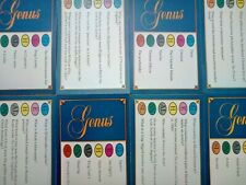 Trivial Pursuit Cards Genus Edition 50 Cards In Excellent Condition Free UK Post