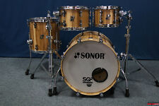 "Sonor SQ2 Maple Shellset  -  ""American Walnut""  -  20,10,12,14"""