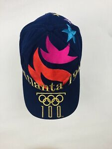 Rare Atlanta 1996 100 Centennial Olympics Games Hat Cap The Game Embroidered