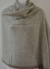 Cashmere Scarf Shawl Pashmina Soft Wool Winter Warm Wrap 200x70cm Nepal EU2004