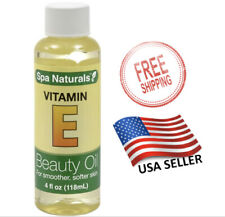 Vitamin E Oil 4 oz Smoother Softer Skin Hair Body Scars Moisturizer Spa Beauty