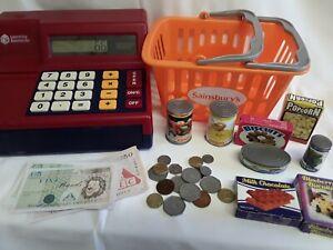 Pretend & Play Shops Toy Till Calculator Cash Register