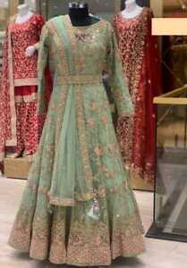 READYMADE ANARKALI GOWN INDIAN PAKISTANI ETHNIC WEDDING PARTYWEAR EID COLLECTION