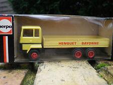 HERPA HO 1:87 ref 803291 Camion BERLIET HENQUET BAYONNE état neuf en boite