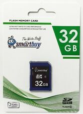 Smartbuy 32GB SDHC Class 4 Flash Memory Card High Speed For Camera Fast Shipping