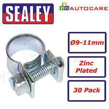 Sealey Mini Hose Clip Ø9-11mm Pack of 30 - MHC911