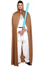 Long brown cape, jedi, star wars, film, halloween adulte