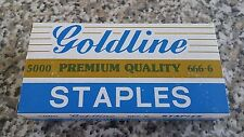 STAPLES 666-6 X50,000 FOR RAPID 90,101,102,105 OR SIMILAR