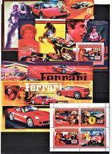GUINEE 2006 ENZO FERRARI RACING ELVIS SCHUMACHER LUXURY SPORT CARS S/S M/S MNH**