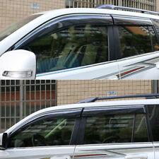 For Toyota Land Cruiser Prado FJ150 2010-2018 4PCS Window Visor Sun Rain Shade