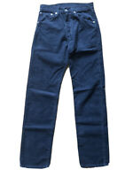 Levi 551 Corduroy Blue Jeans Straight Size W29 32 Tags (W27 L31 Measured)