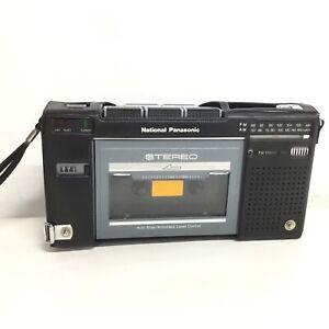 Vintage National Panasonic Cassette Recorder Model RX-2700 #667