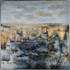 Scatter Box Ksenia Sizaya Country Dusk Framed Hand Painted Print Canvas Wall Art