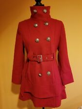 Charles Klein  Wool Blend Women's  Coat Size Small Petit  Retail Price $299