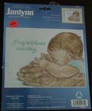 New listing Janlynn Counted Cross Stitch Pray Without Ceasing 11x8 Unopened New