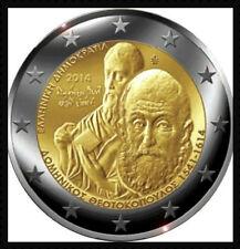 2 EURO *** Griekenland 2014 Grèce 2014 *** Dominikos Theotokopoulos/El Greco !!!
