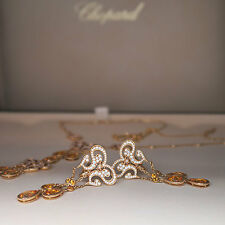 Exclusive Chopard Ohrhänger Ohrringe Copacabana Diamant gelbe Saphire 23.520,-€