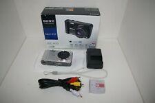 Sony Cyber-Shot DSC-H70 16.1MP Digital Camera Silver TESTED!