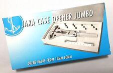 Herramienta de relojero Estuche Abridor Jumbo Inc 12 Pines y pequeño gobernante se abre espaldas - 19-60mm