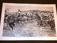 Guerra Europa 1914 Esercito Russia Cosacchi Leopoli + Ussari Oxford San Quintino