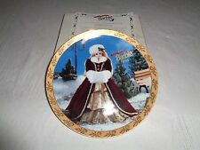 Enesco Happy Holidays 1996 Barbie Plate #2