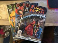 DC Comics The Final Night 1-4 Missing 2 NM/Mint