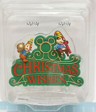 Disney Chip & Dale Merry Christmas Ornament Japan Limit  , h#1