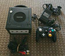 Nintendo GameCube Console + Genuine Controller PAL Jet Black