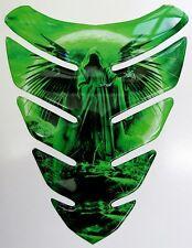 Grim Reaper Moon Green 3D Gel Resin Tank Pad