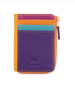 NWT MYWALIT Small Zip Purse Copacabana wallet leather with zipper $52
