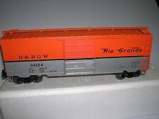 """Weaver """"Rio Grande"""" 40' Box Car used no box lot # 8577"""