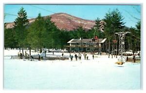CHARLEMONT, Massachusetts MA ~ Base Lodge THUNDER MOUNTAIN SKI AREA  Postcard